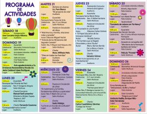 Programa Actividades XXVIII FLC