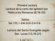 Lecturas de hoy Martes de la 30ª semana del Tiempo Ordinario