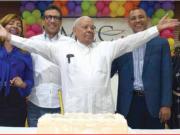CELEBRANDO LA MISA DE RESURRECCIÓN Y EL XX ANIVERSARIO DE DIACONADO DE ADIC RAMIREZ