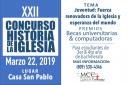 XXII Concurso Historia de la Iglesia – 2019