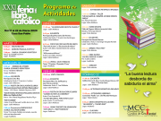 Programa de Actividades XXXI Feria Libro Católico 2020